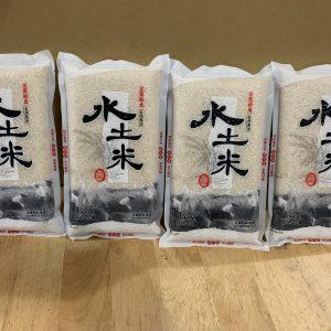 秋茂嚴選-有機水土米